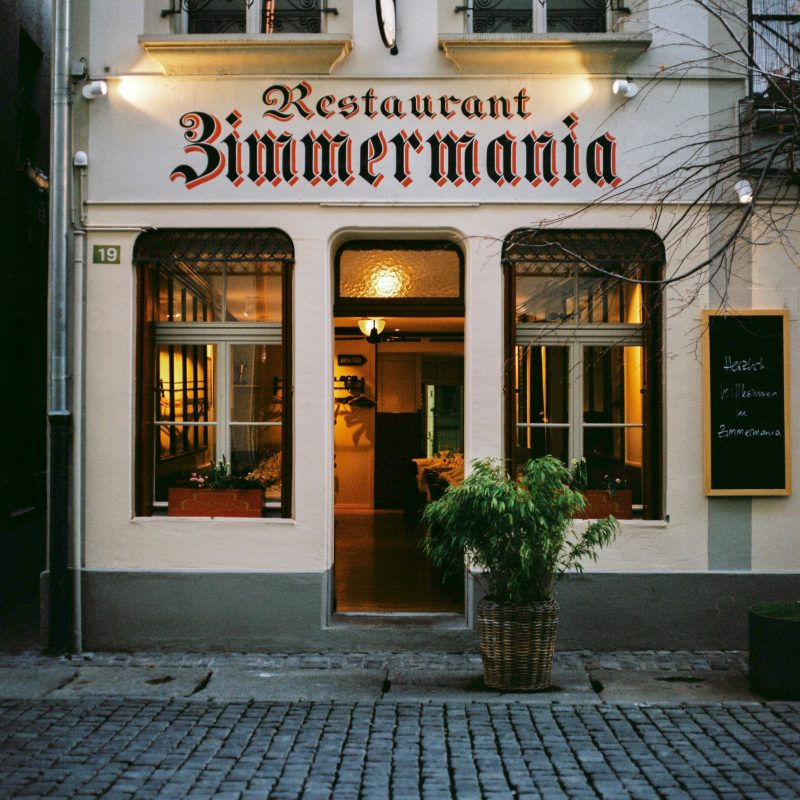 Restaurant Zimmermania
